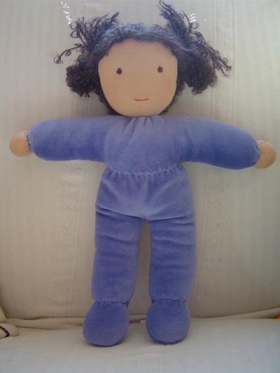 Вальдорфские куклы подробный,хотя и длинный МК по изготовлению этой.